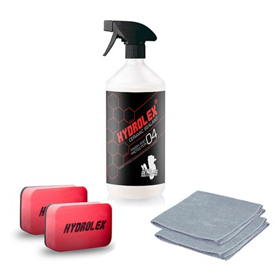 Hydrolex Ceramic Sealant 500ml Paint Protection with Applicators and Microfibre Cloths