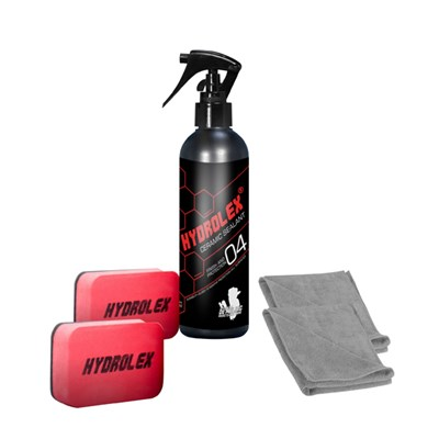 Hydrolex Ceramic Sealant 250ml Paint Protection with Applicators and Microfibre Cloths