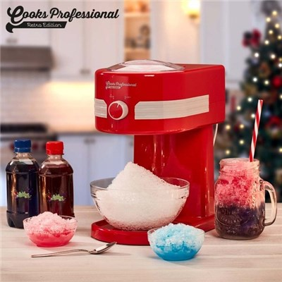 Cooks Professional D9932 Ice Shaver and Snow Cone Maker