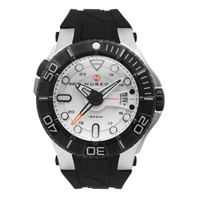 Nubeo Gent's Manta Automatic Watch with Silicone Strap