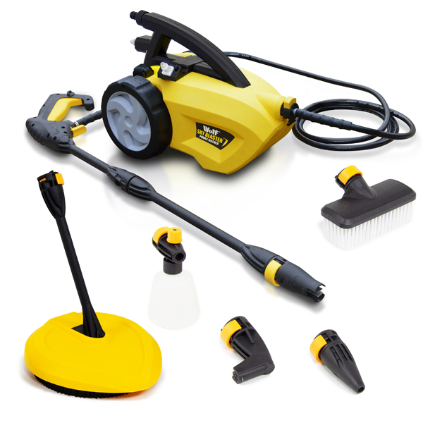 Wolf Sky Blaster Pressure Washer with Patio Cleaner Attachment No Colour
