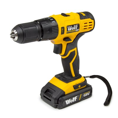 Wolf 18V Combi Drill