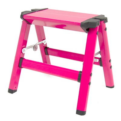 Wolf Aluminium Pink Step Up