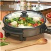 Cooks Professional Multi Cooker, Electric Frying Pan with Glass Lid