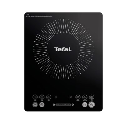 Tefal Black Everyday Slim Induction Hob