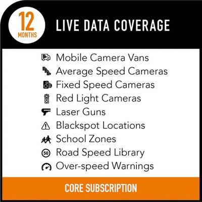 Road Angel Pure 12 Months Live Data Subscription