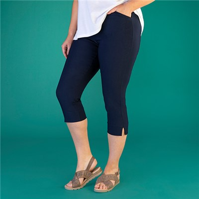 Emelia Superstretch Bengaline Crop Trouser