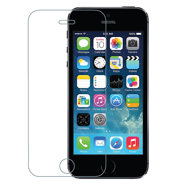 Azuri Apple iPhone SE Tempered Glass Screen Protector No Colour