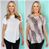 Kasara 2 Pack Print and Plain Top