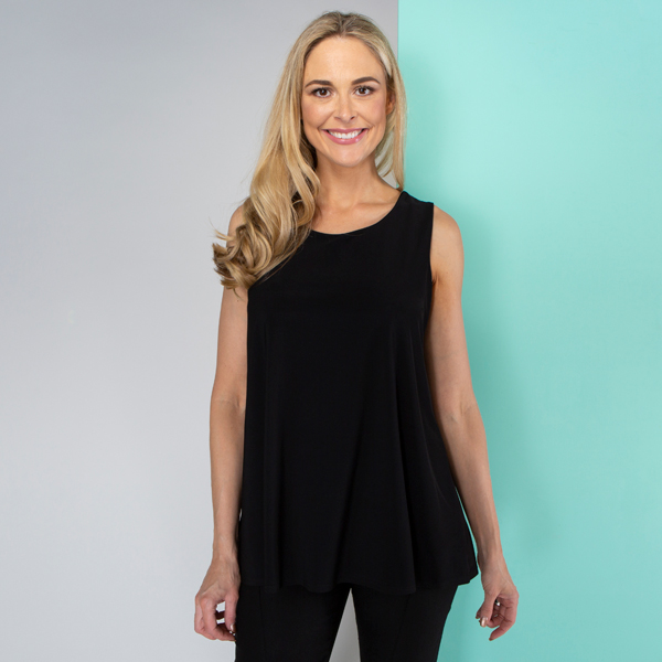 Kasara Cross Back Cami Black