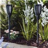 Solar Style Flickering Flame Solar Stake Lights 6 Pack