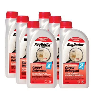 Rug Doctor Carpet Detergent 1L (6 Pack)