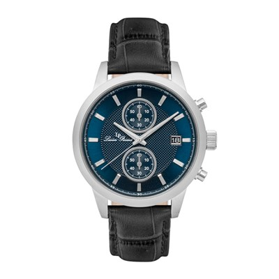 Lucien Piccard Gent's Clark Watch with Genuine Leather Strap
