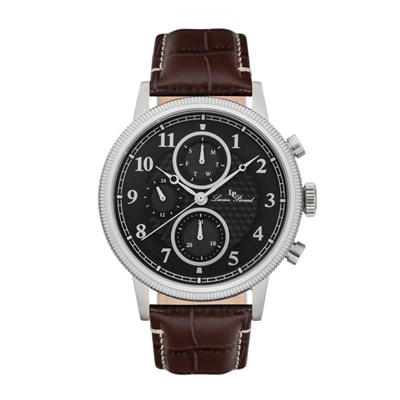 Lucien Piccard Gent's Holden Watch with Genuine Leather Strap
