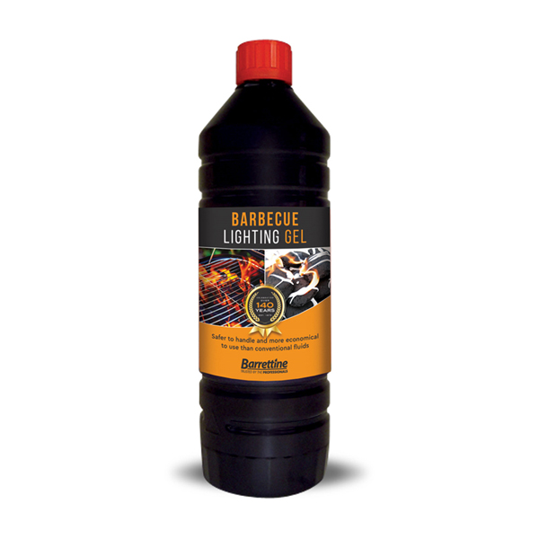Barrettine BBQ Lighting Gel 1L No Colour