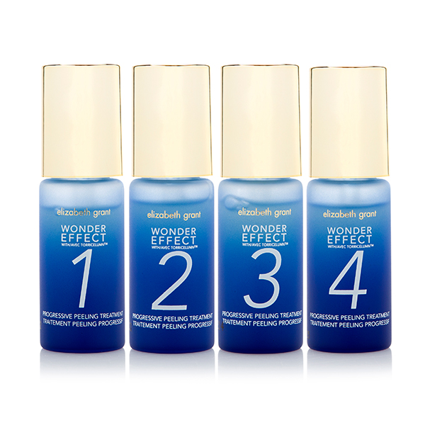 Elizabeth Grant Wonder Effect 4 Week Face Peel (4 x 15ml) No Colour