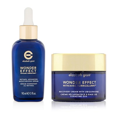 Elizabeth Grant Wonder Effect Recovery Cream with Ubiquinone 100ml and Serum 90ml