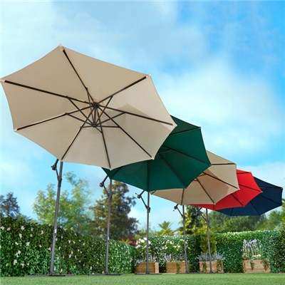 Cantilever Parasol with Free Cover