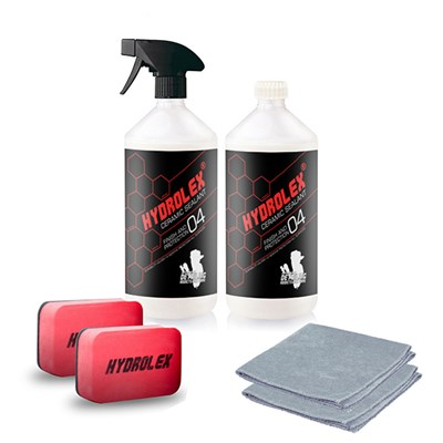 Hydrolex Paint Protection 500ml (Twin Pack) plus Trigger Spray, 2 x Applicators & 2 x Microfibre Cloths