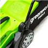 Greenworks 40v Cordless Lawnmower 35cm with 1 x 2Ah Battery & Charger PLUS FREE Greenworks LT40 Line Trimmer (Bare Tool)