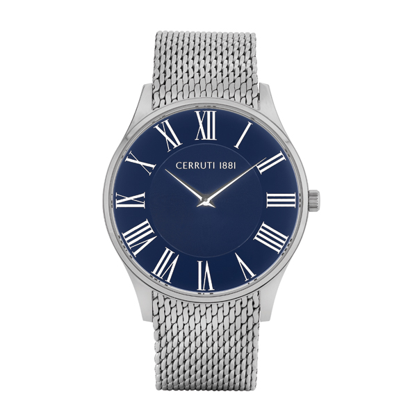 Cerruti 1881 Gent's Canice Watch with Milanese Bracelet Blue/Silver