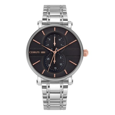 Cerruti 1881 Gent's Scorrano Watch with Stainless Steel Bracelet