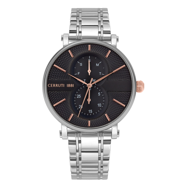 Image of Cerruti 1881 Gent's Scorrano Watch with Stainless Steel Bracelet