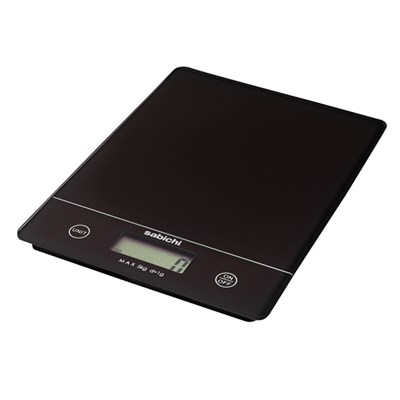 Sabichi Black Digital Kitchen Scales