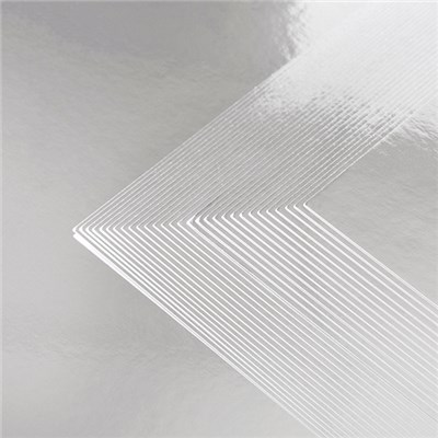 Core Collection Pack of 30 A4 250gsm Silver Metallic Cardstock