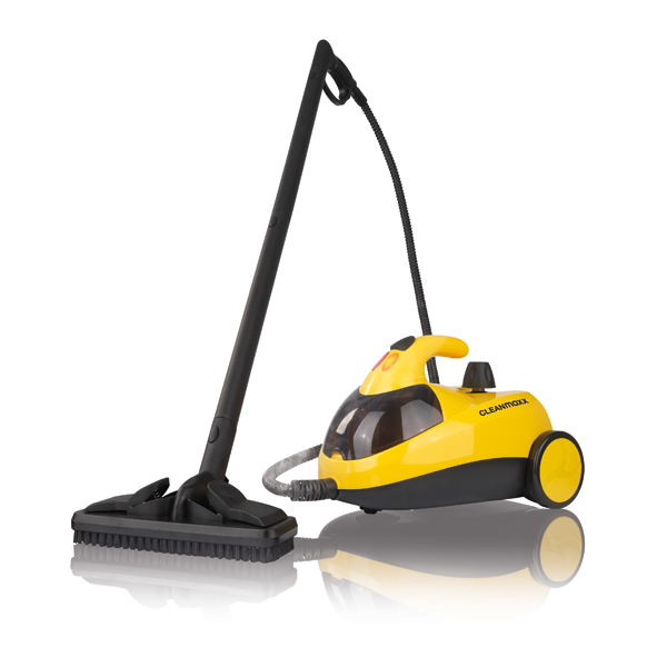 CLEANmaxx Yellow/Black Steam Cleaner 1500W No Colour