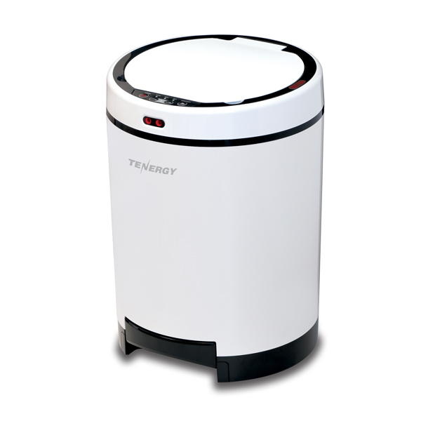 Smart Bin and Vac with Automatic Hands Free Lid and HEPA Filter No Colour