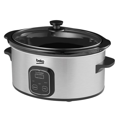 Beko 6L Digital Slow Cooker SCM3622X