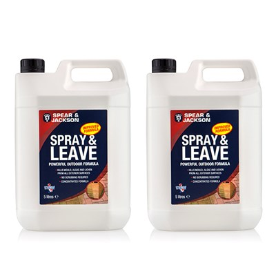Spear & Jackson Spray & Leave 5L (Twin Pack)