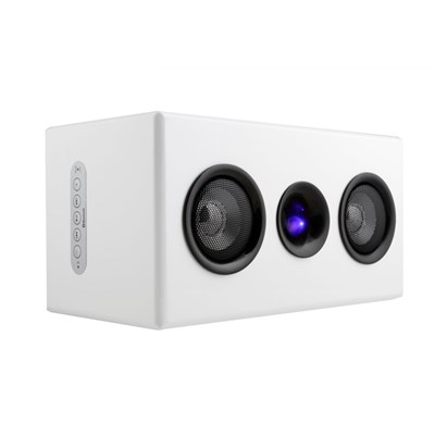 Steepletone Studio Bluetooth Speaker in High Gloss Finish with Rechargeable Battery and AUX IN