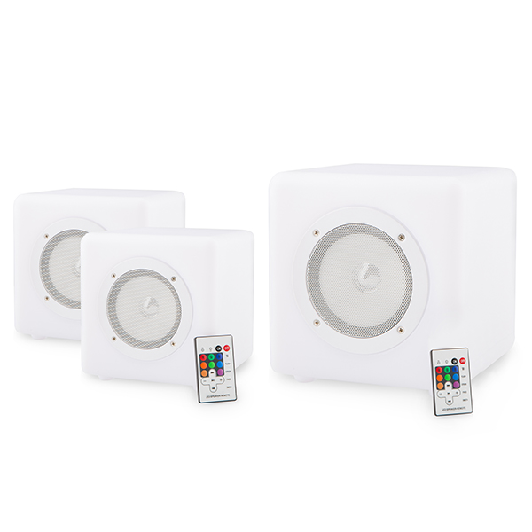 Image of Cube Connex Portable Speakers (3 Pack - 2 x 20cm and 1 x 30cm)