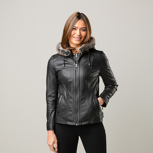 Lakeland Leather Abbie Jacket Black