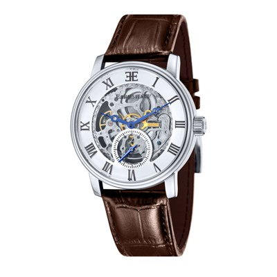 Thomas Earnshaw Gent�s Westminster Automatic Watch with Genuine Leather Strap