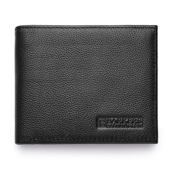 Barkers of Kensington Gent's Leather Wallet Black