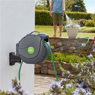 Garden Gear Easy Hose 20m Slow Rewind