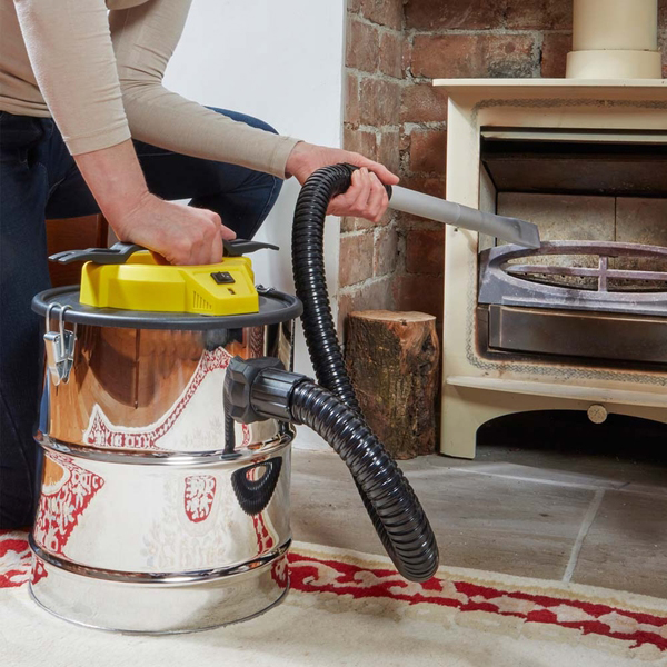 Maxi Vac 800-Watt Ash Vacuum No Colour
