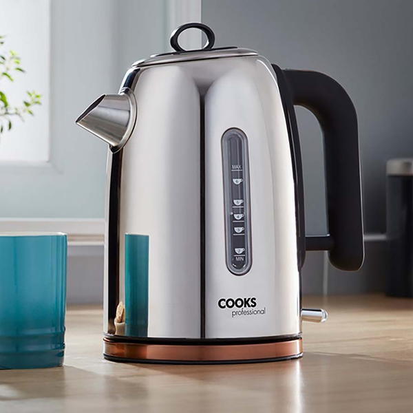 Cooks Professional G3244 Copper Stainless-Steel Kettle No Colour