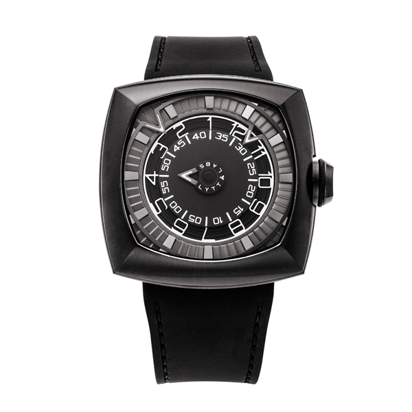 Lytt Labs Gent's Inception V1.1 Gunmetal Watch Black