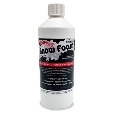 500ml Wolf Snow Foam with Cherrry Fragrance Car Valet Wax & Shampoo