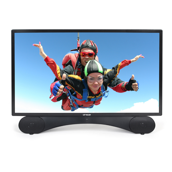 Linsar 24inch TV X24DVDM2 with Built in DVD No Colour