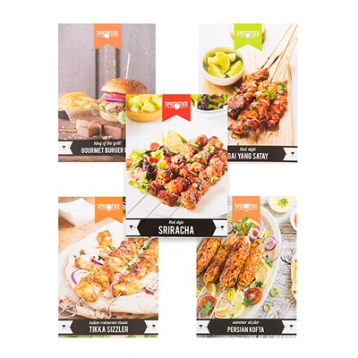 Spice Bundle for Grills (5 Pack)