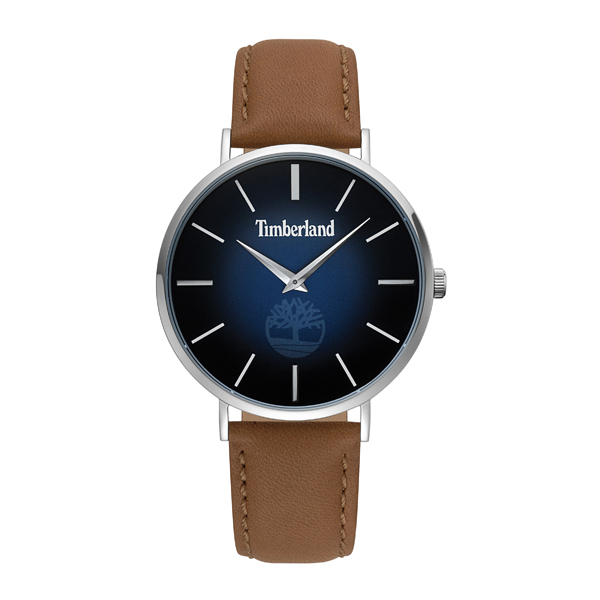 Timberland Gent's Rangeley Watch With Genuine Leather Strap Blue