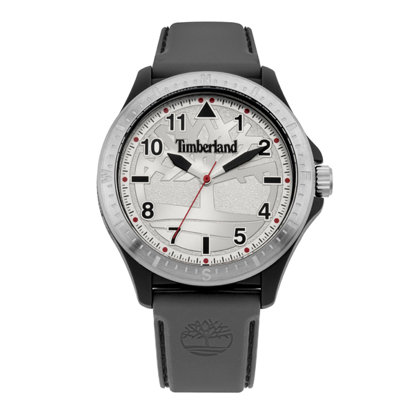 Timberland Gent's Glenburn Watch with Silicone Strap Grey