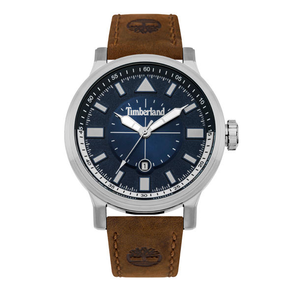 Timberland Gent's Driscoll Watch with Genuine Leather Strap Blue
