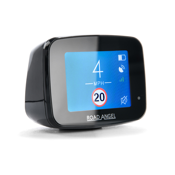 Road Angel Pure Speed Detector with 12 Months Live Data Subscription and Smart Motorway No Colour