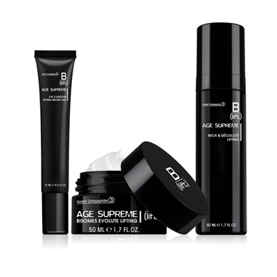 B-Lift Age Supreme 3pc Collection- Bisomes Evolute Lifting Cream, Neck & Decollete & Eye Contour Gel